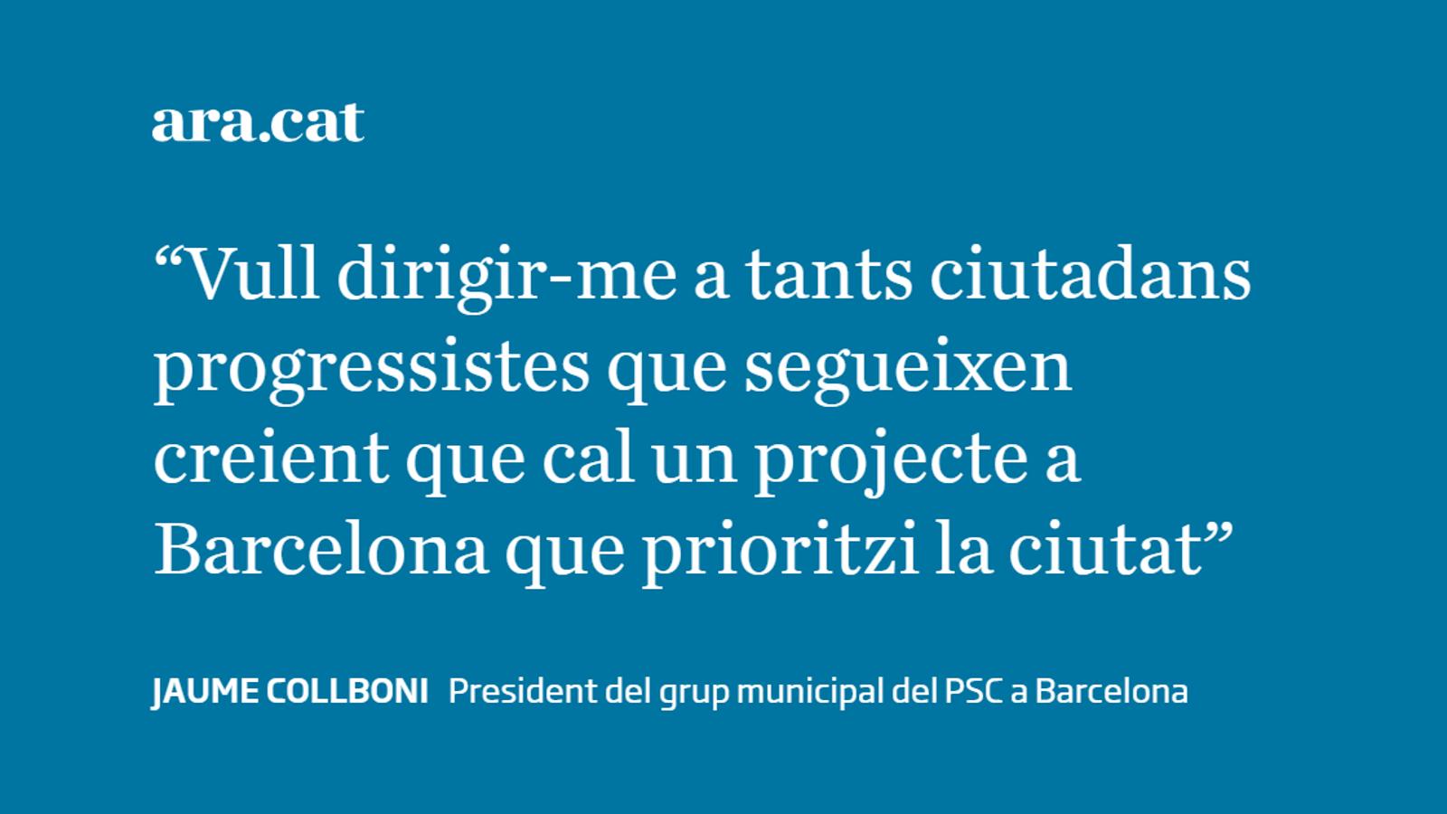Per Barcelona, des de l'esquerra