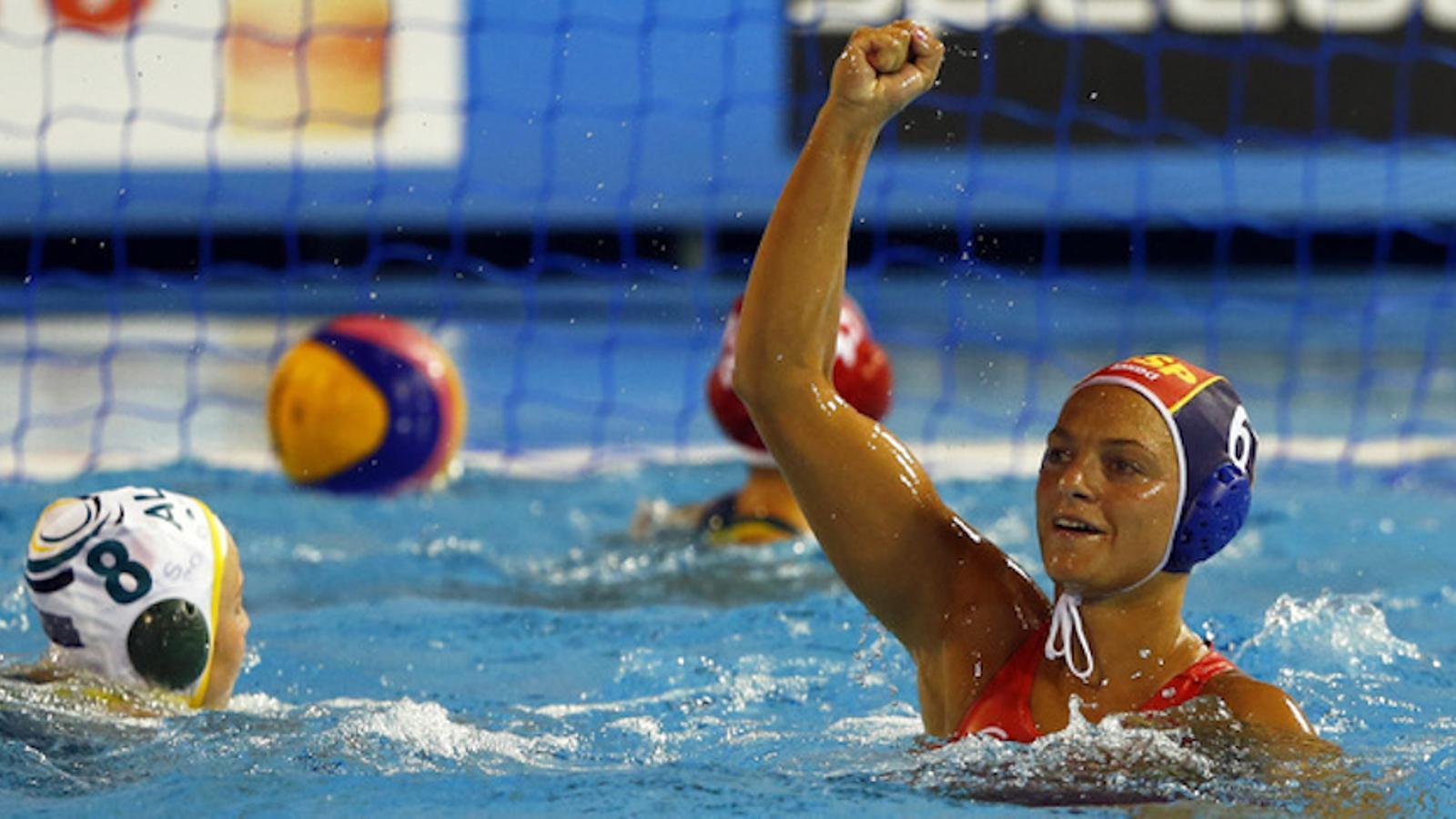 Jennifer Pareja amb la selecció estatal / EFE