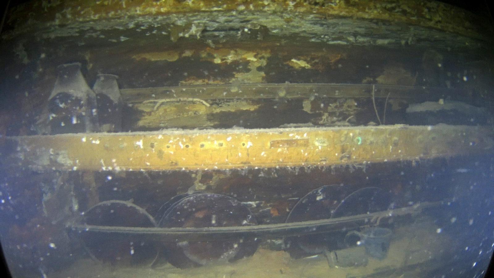 Primeres imatges del 'Terror', el vaixell desaparegut a l'Àrtic fa 170 anys