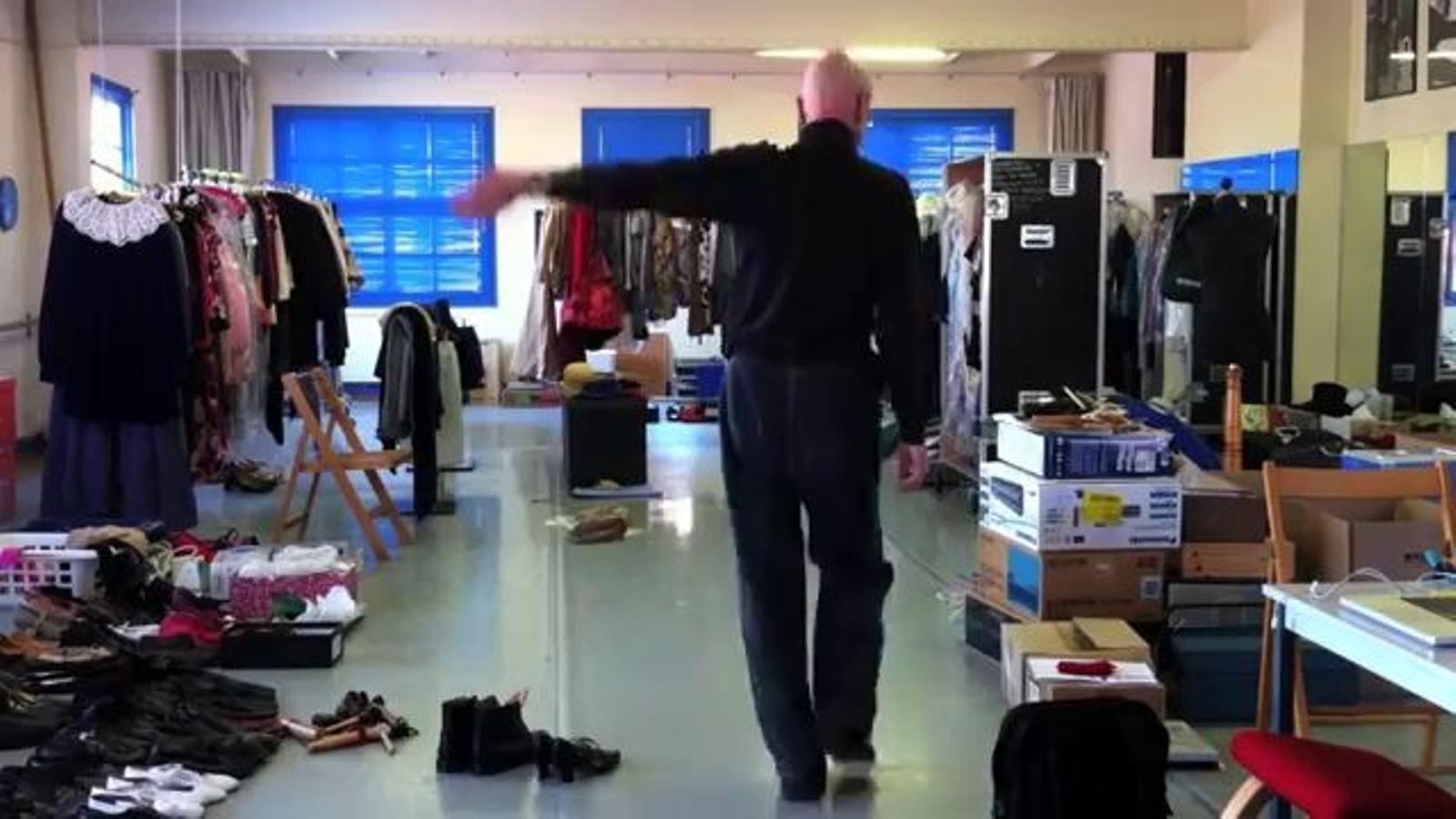 'Domènech', l'última coreografia de Cesc Gelabert al seu taller