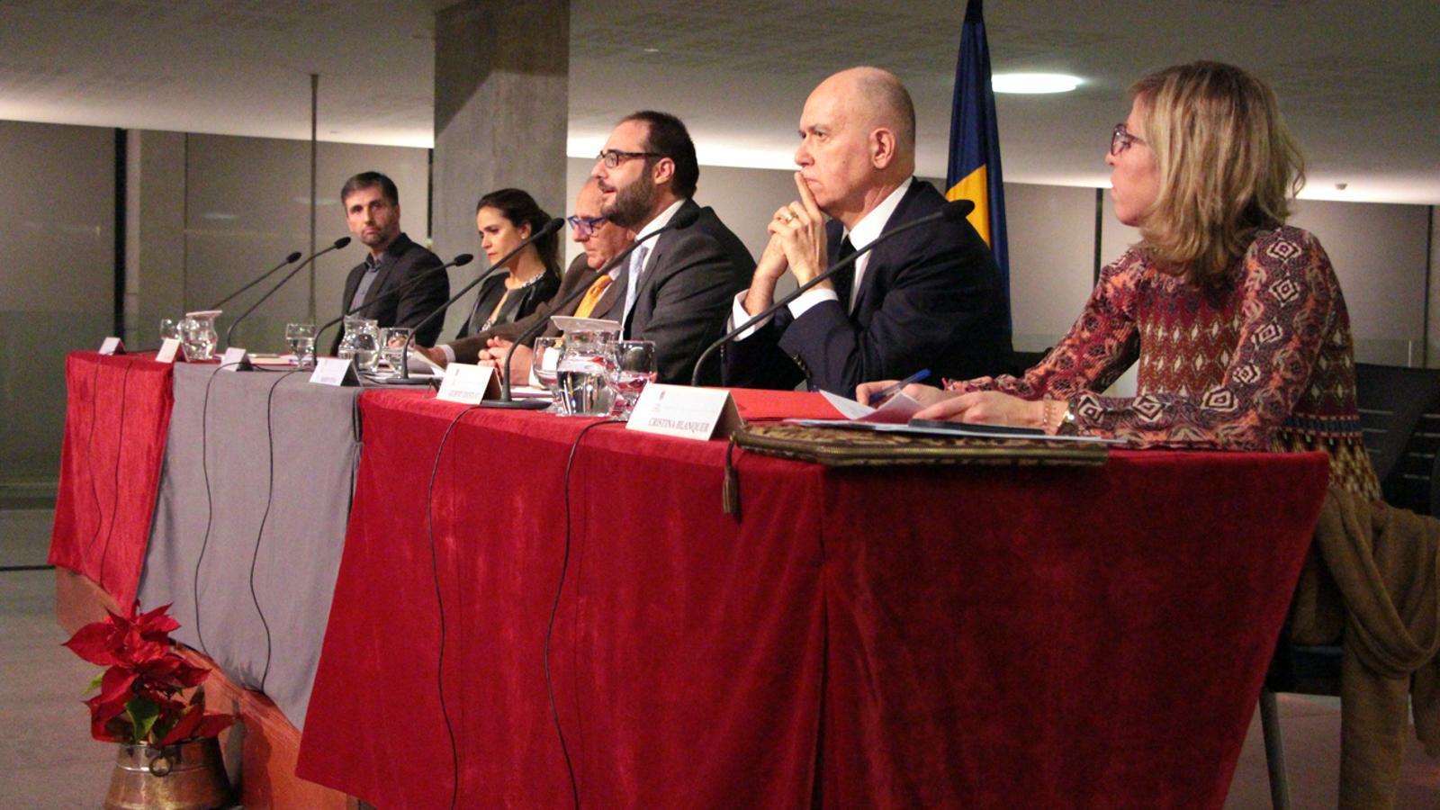 Taula rodona sobre els beneficis de la mediació en l'àmbit judicial. / M. P.