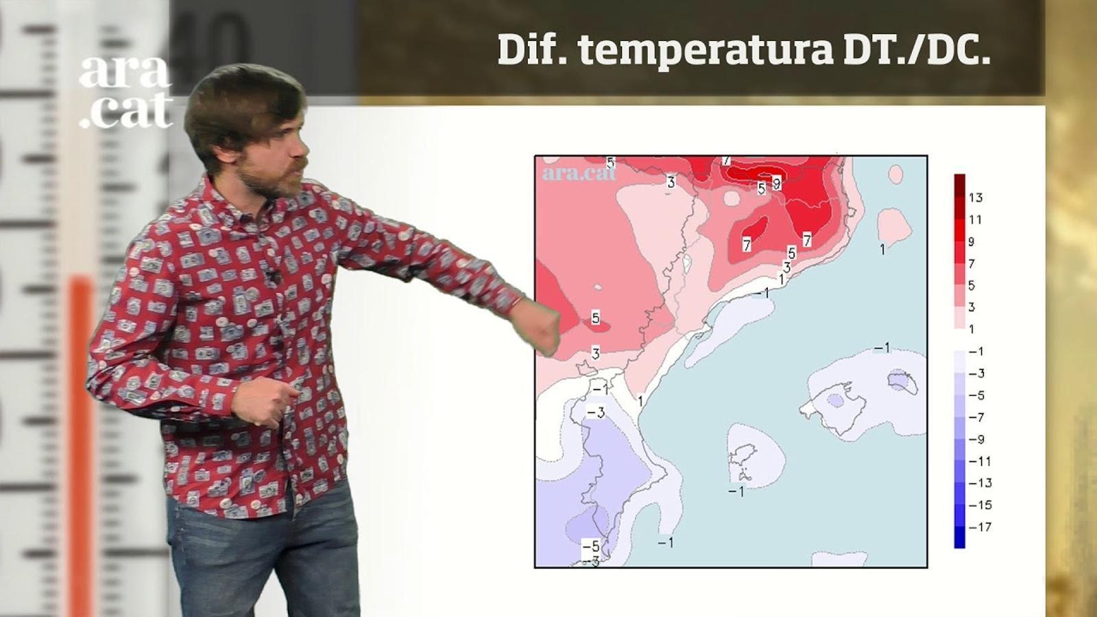La méteo en 1 minut: la calor no trigarà a tornar