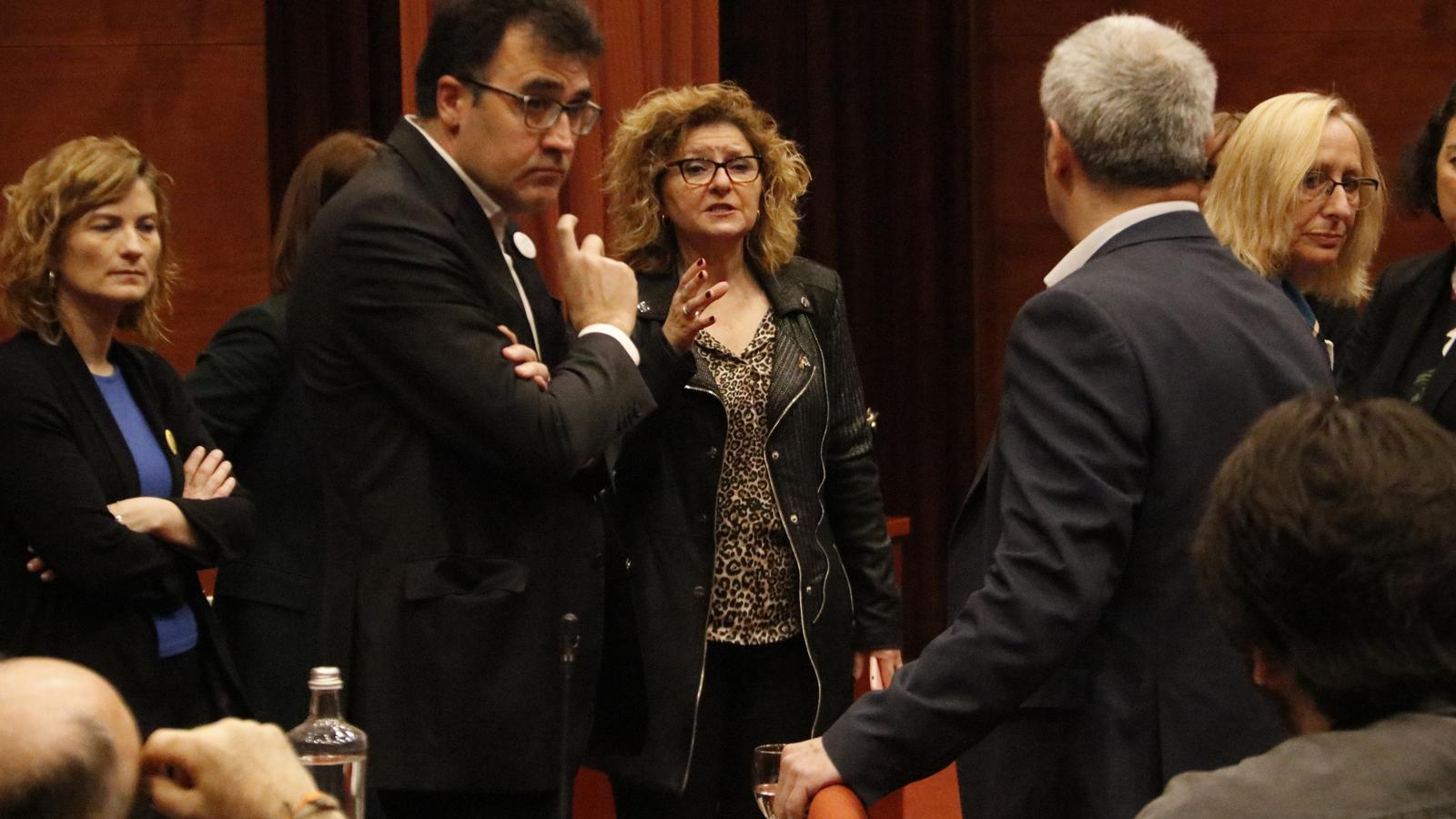Els diputats de la Comissió d'Economia debaten quines mesures prendre pel coronavirus.