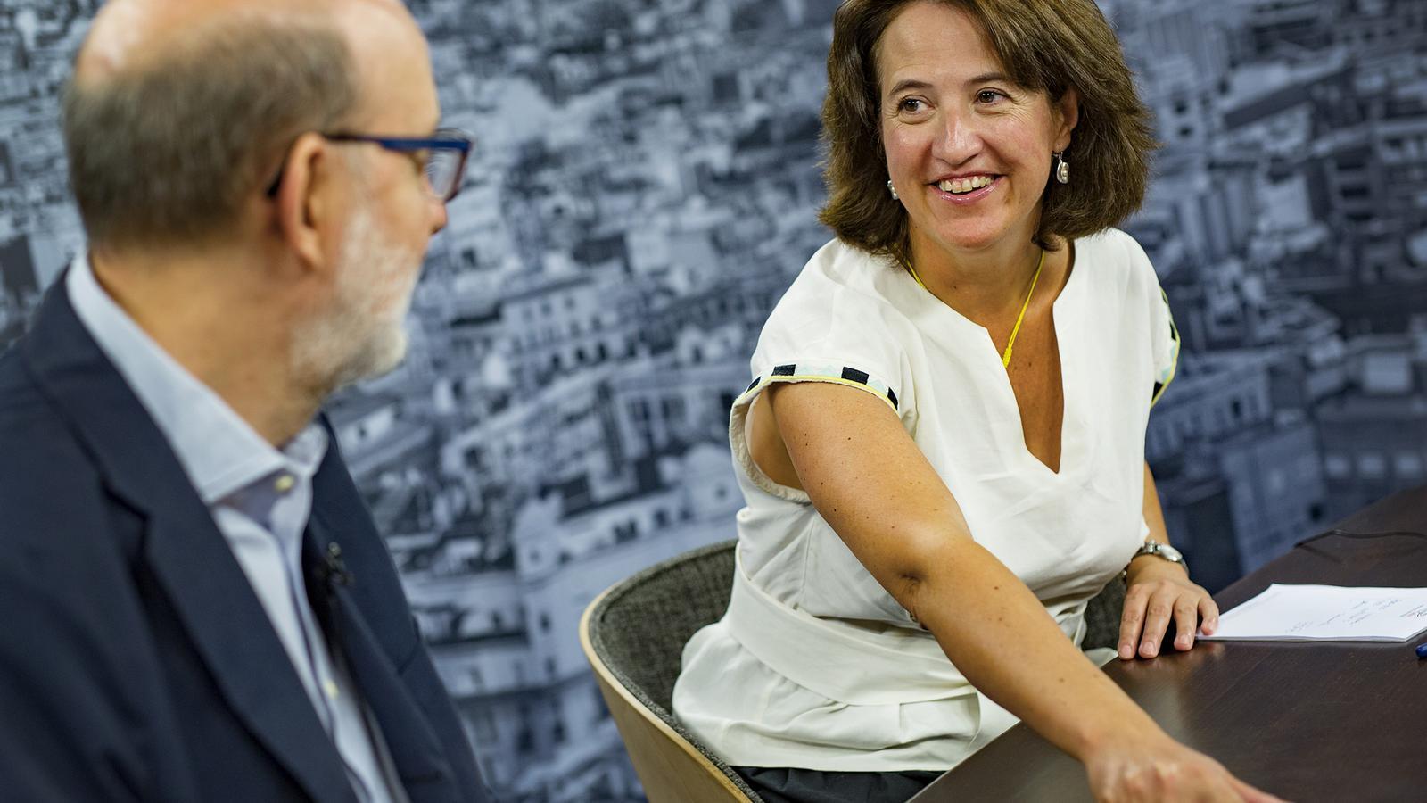 """Elisenda Paluzie: """"Ens hem de continuar preparant per a l'única via possible: la unilateral"""""""