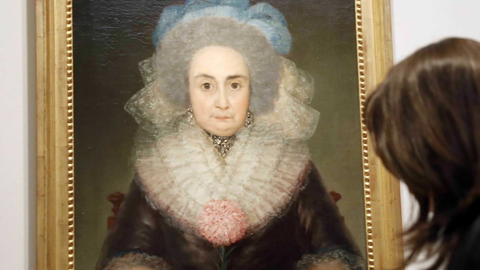 'Retrat de Bernarda Tavira', de Francisco de Goya