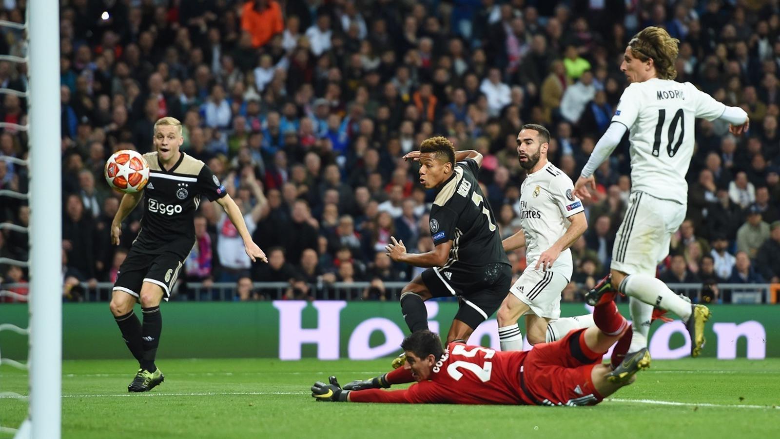 L'Ajax deixa en ridícul el Madrid i l'elimina de la Champions (1-4)