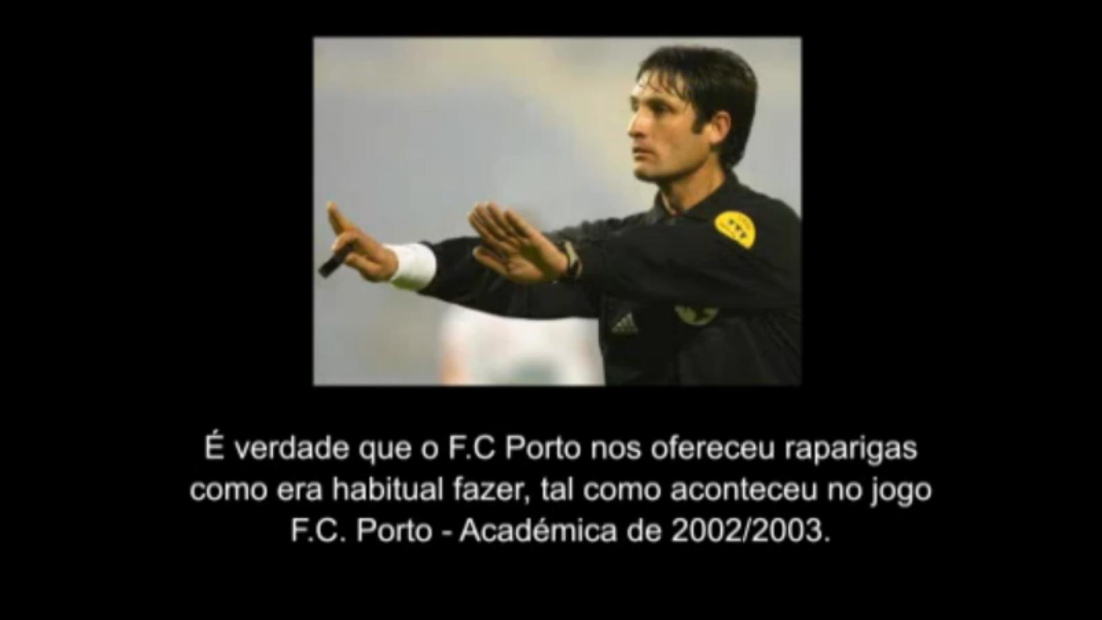 Un àrbitre confessa que va ser subornat pel Porto quan Mourinho n'era l'entrenador