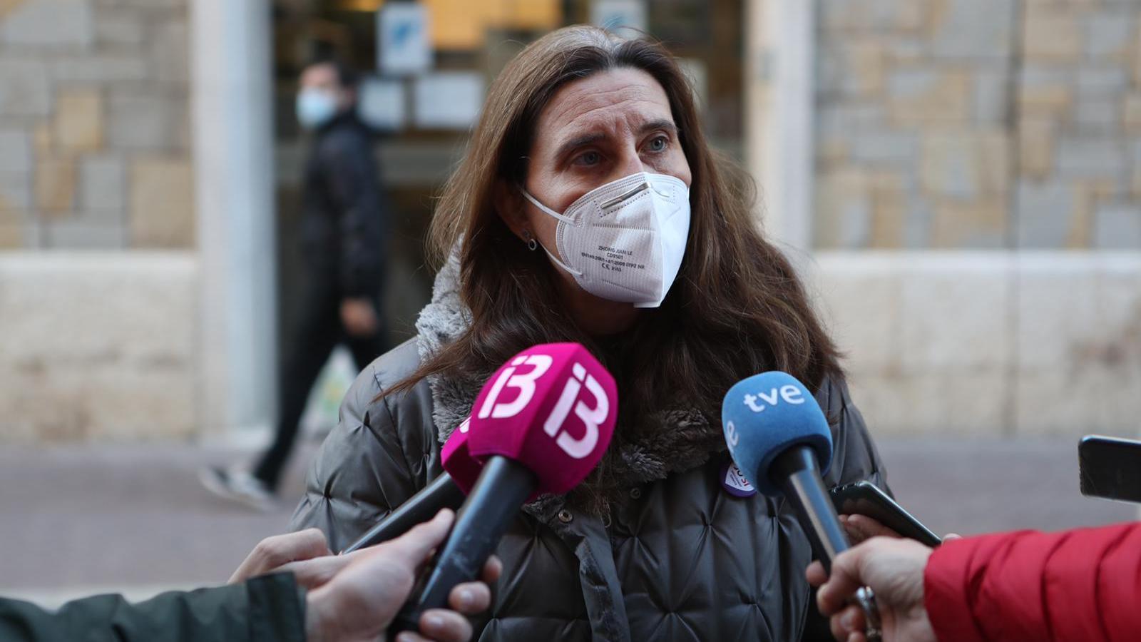 La subdirectora d'Atenció a la Cronicitat del Servei de Salut de les Illes Balears, Angélica Miguélez,