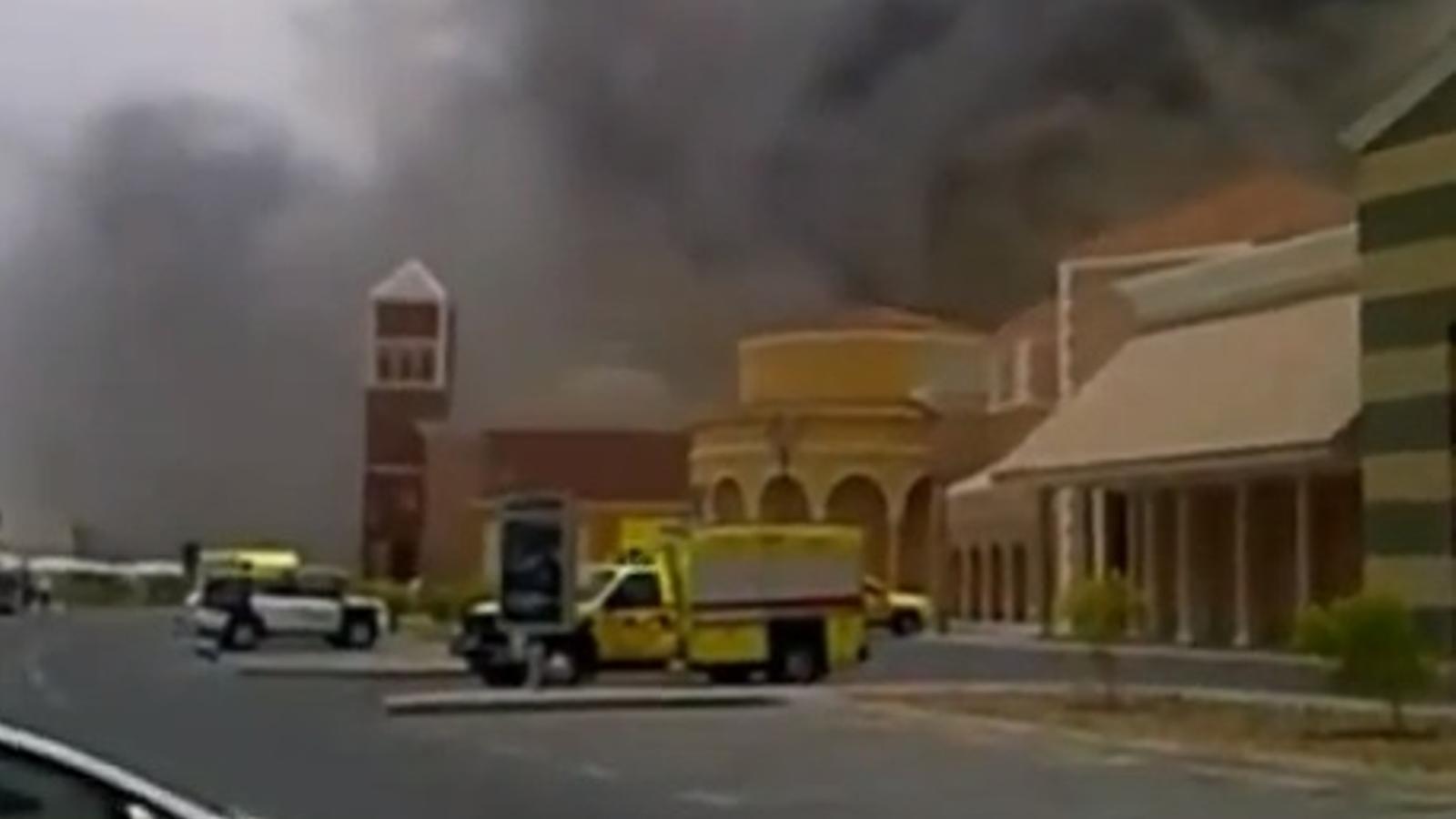 Incendi al centre comercial Villagio de Doha, a Qatar