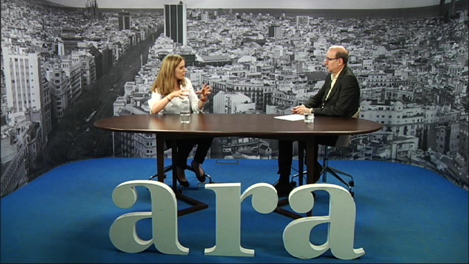Entrevista d'Antoni Bassas a Anna Pagès