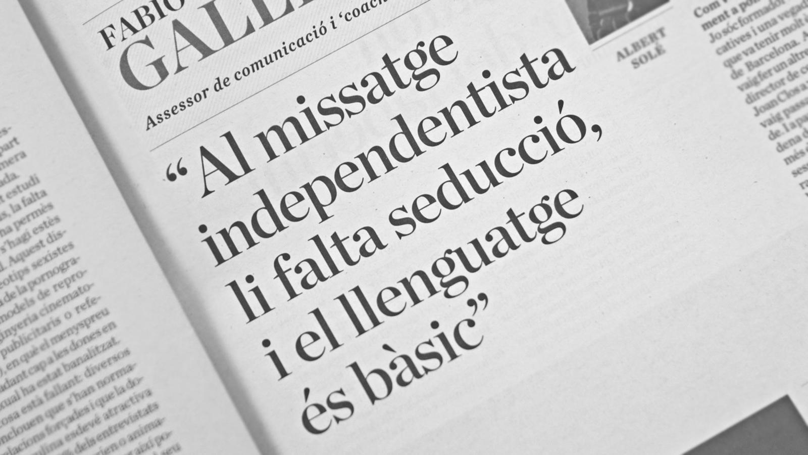 L'anàlisi d'Antoni Bassas: 'L'independentisme a la trinxera'
