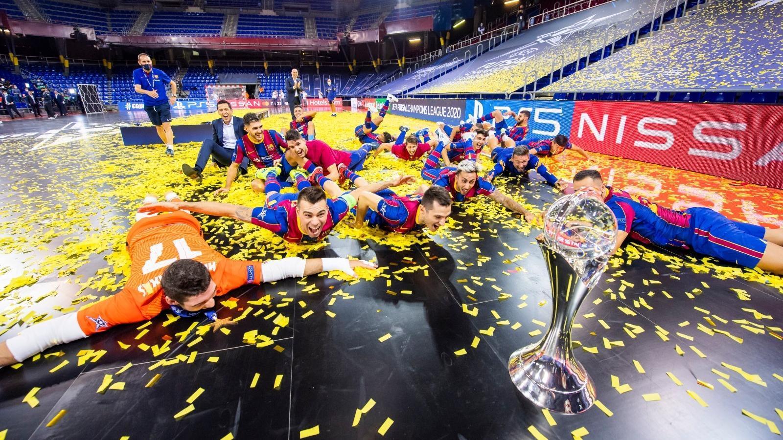El Barça conquereix Europa al Palau