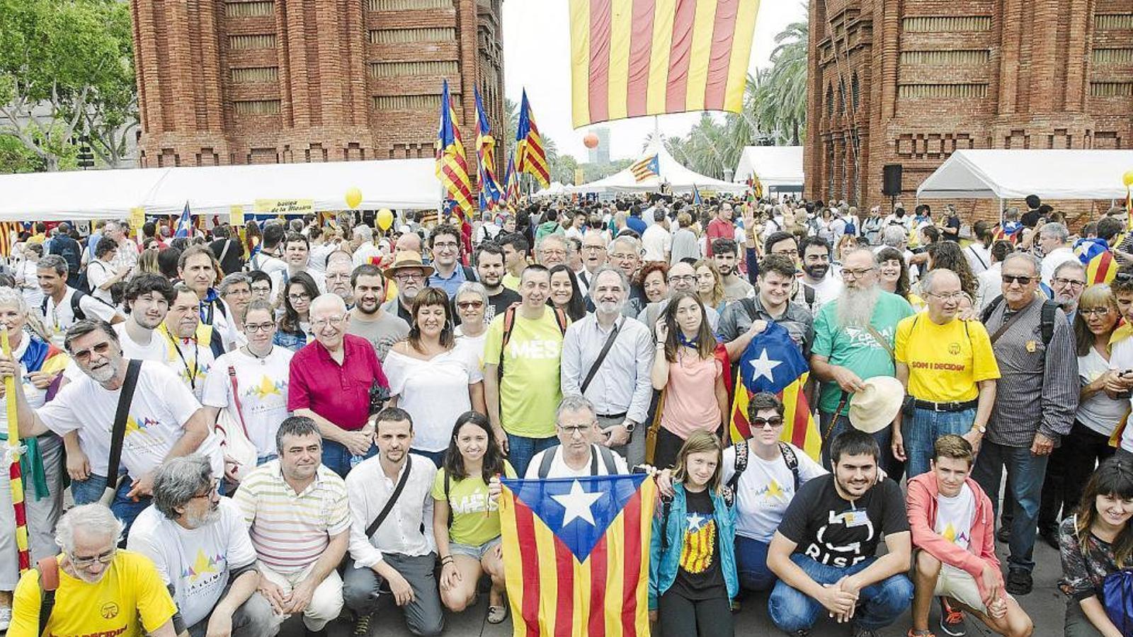 Les Illes amb la Diada de Catalunya, amb els presos i amb els exiliats