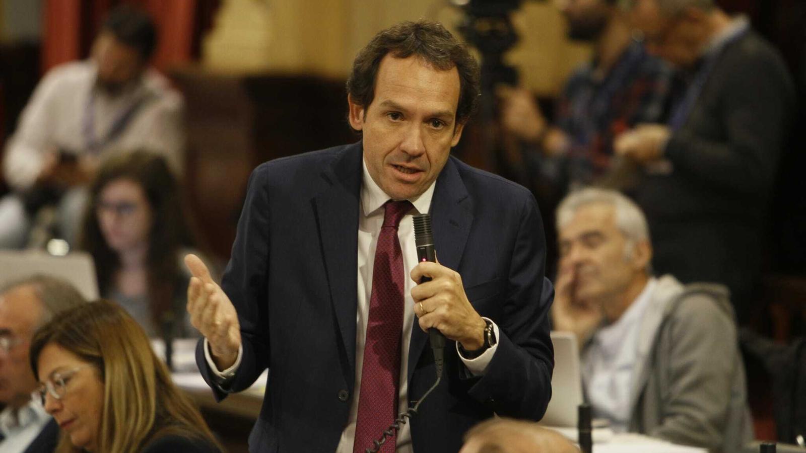 El conseller de Mobilitat i Habitatge, Marc Pons