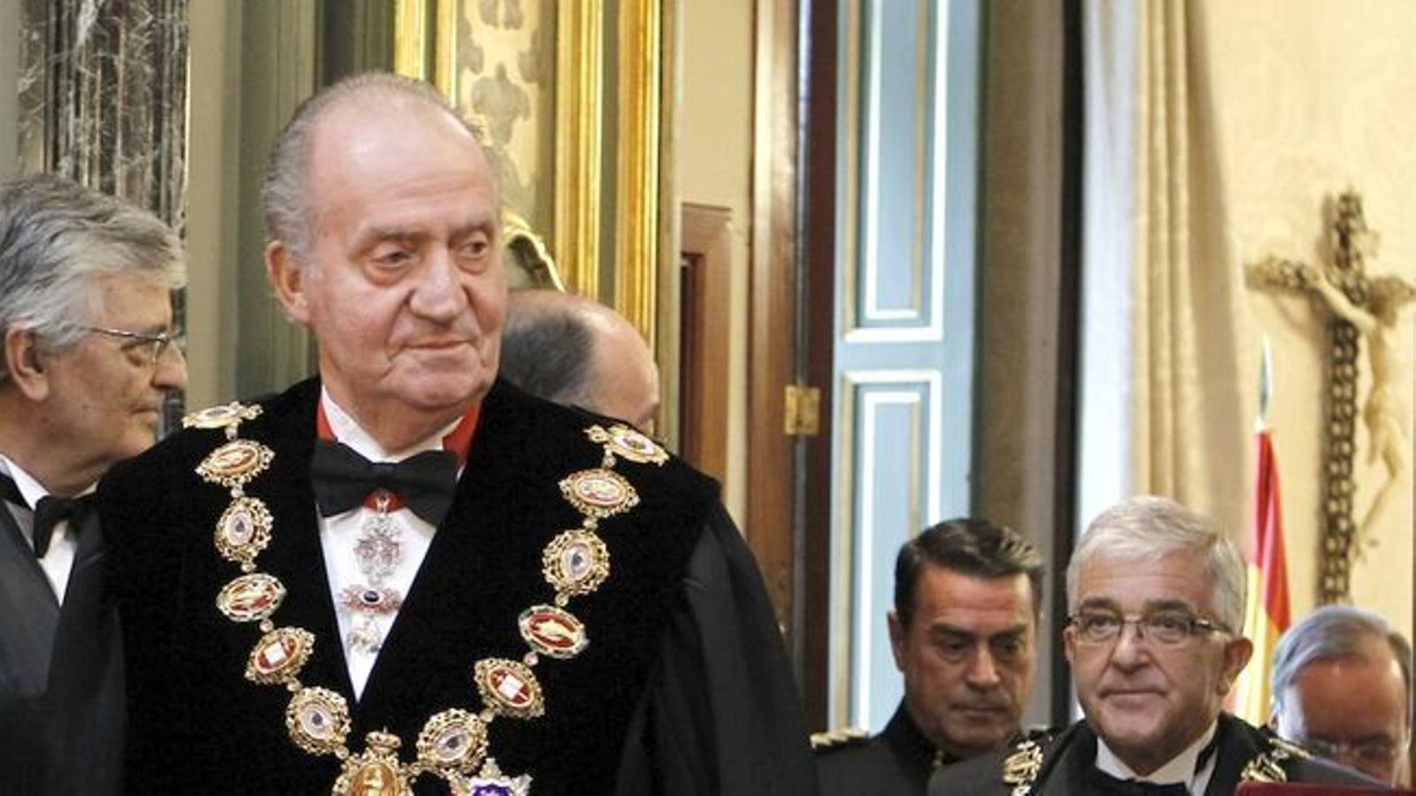 Joan Carles I va amagar a Suïssa milions d'euros en accions de companyies de l'Ibex