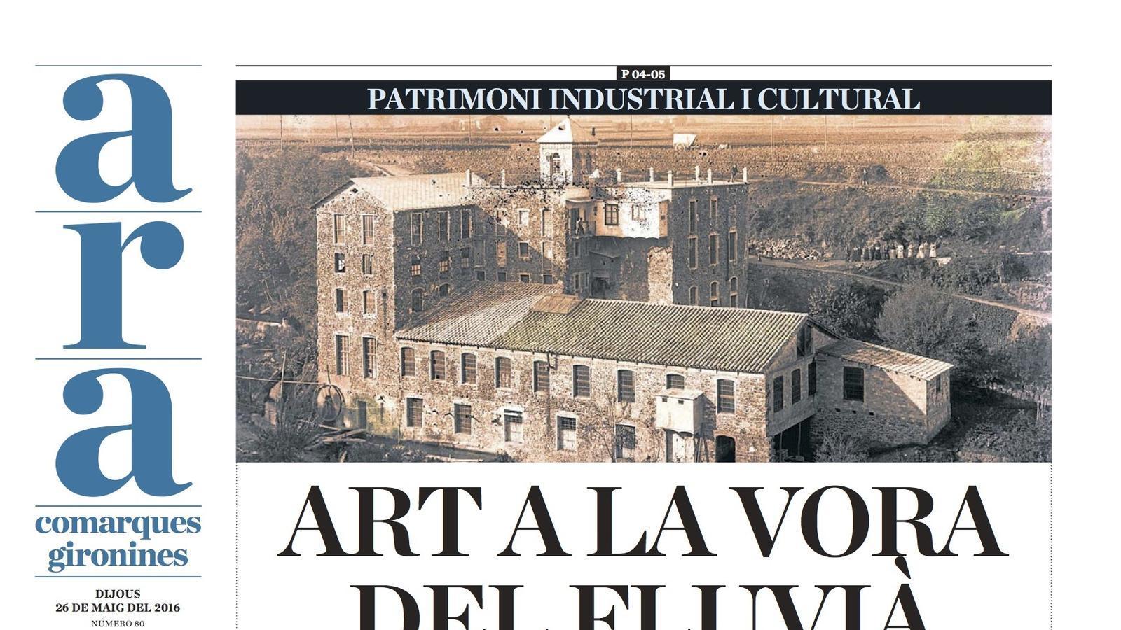 Ara Comarques Gironines: Art a la vora del Fluvià garrotxí