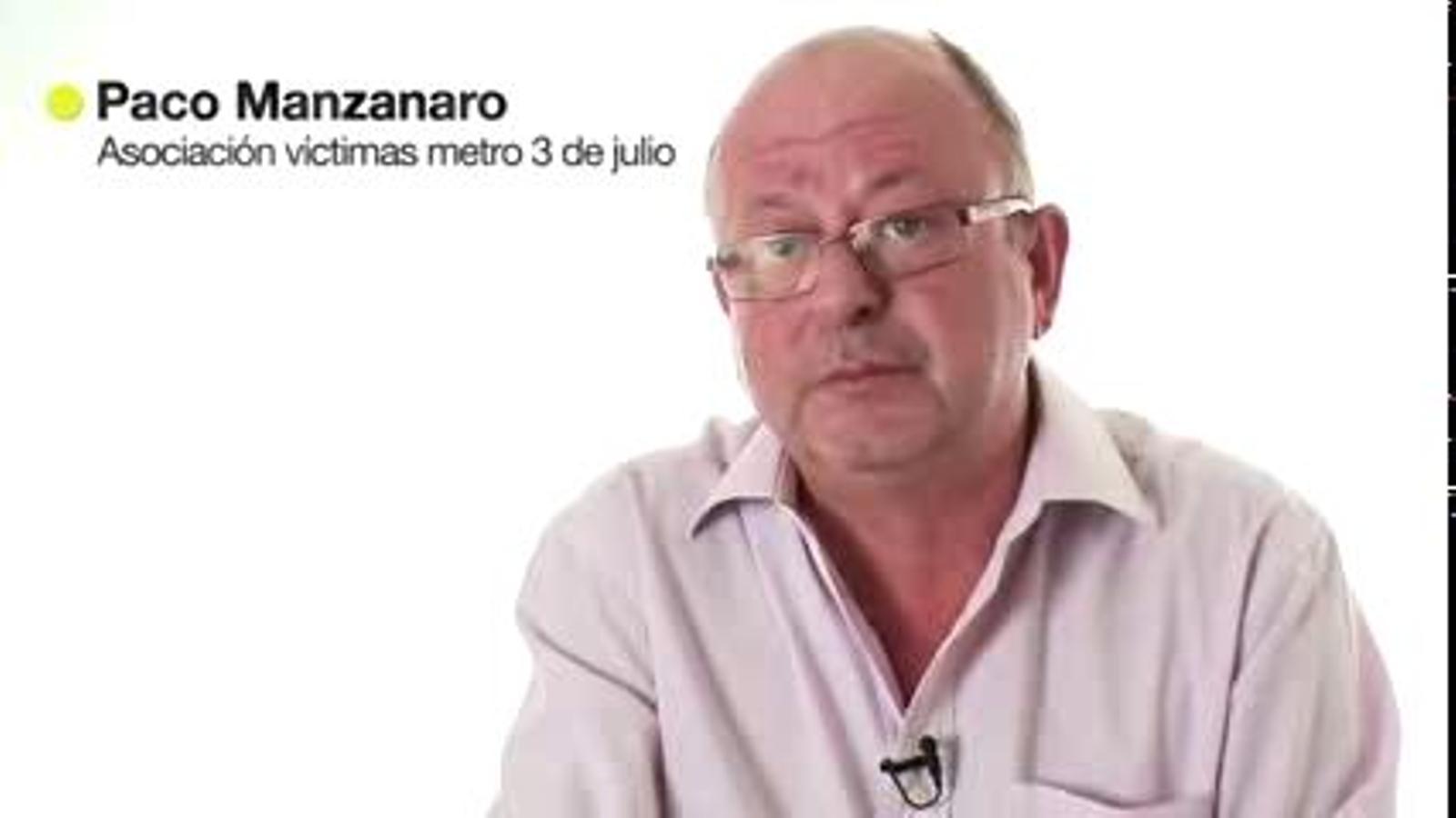El govern valencià va oferir treball als familiars de les víctimes de l'accident de metro