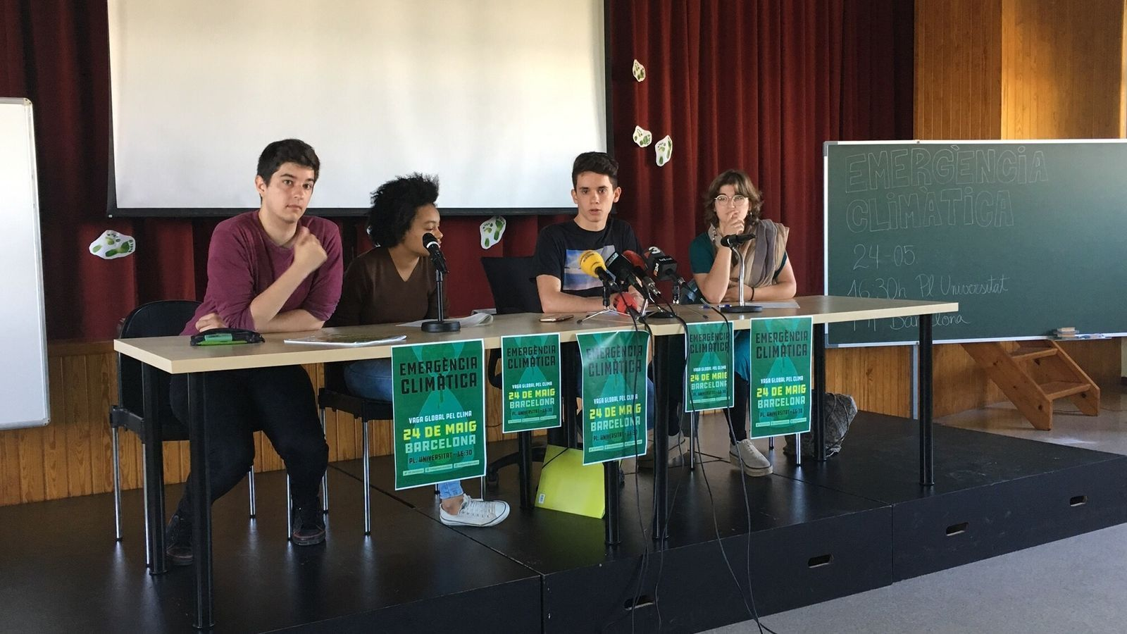 Membres de Fridays For Climate han anunciat una nova vaga i mobilització el dia 24 de maig