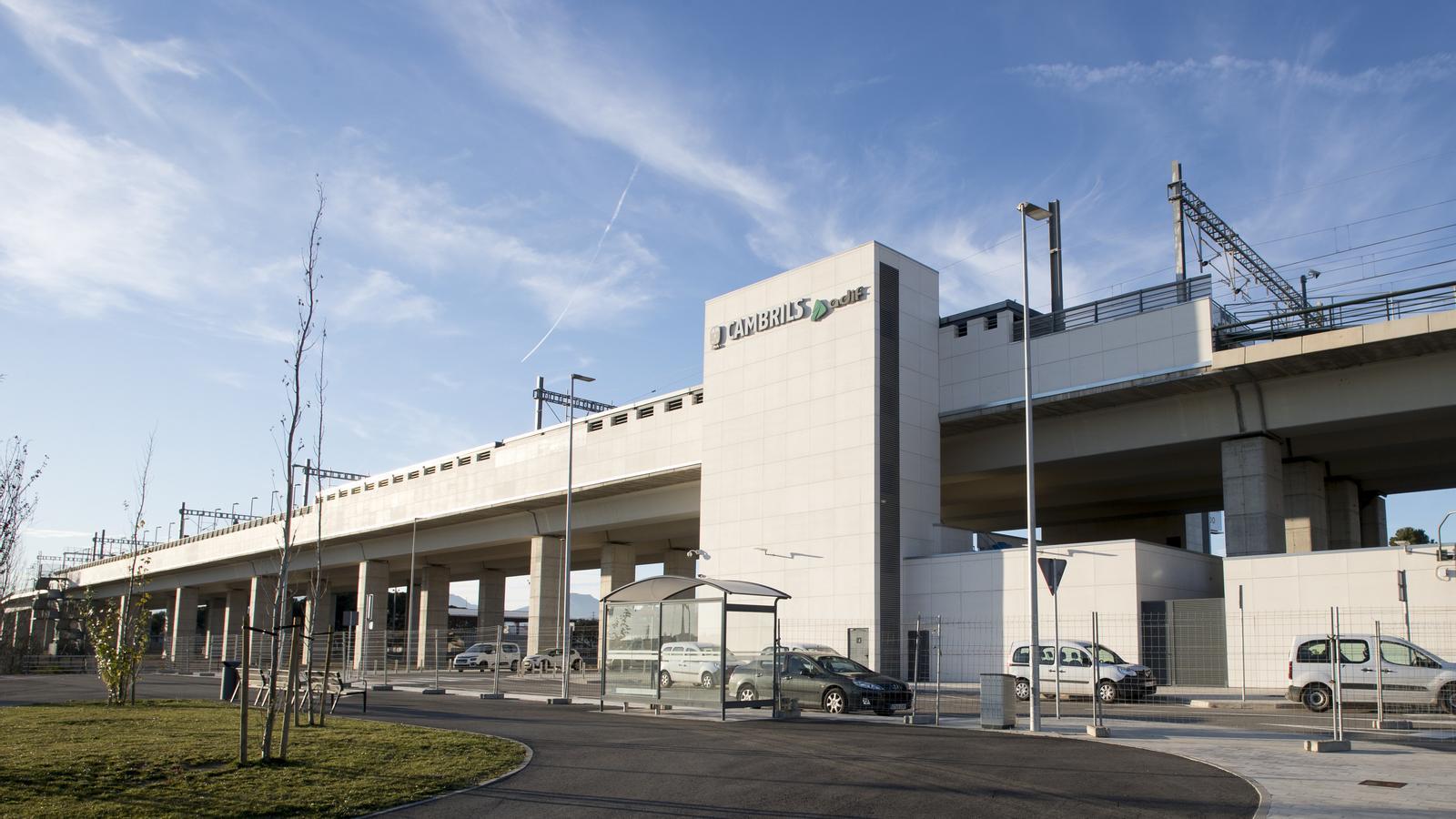 La nova variant ferroviària de Vandellòs s'inaugurarà entre crítiques