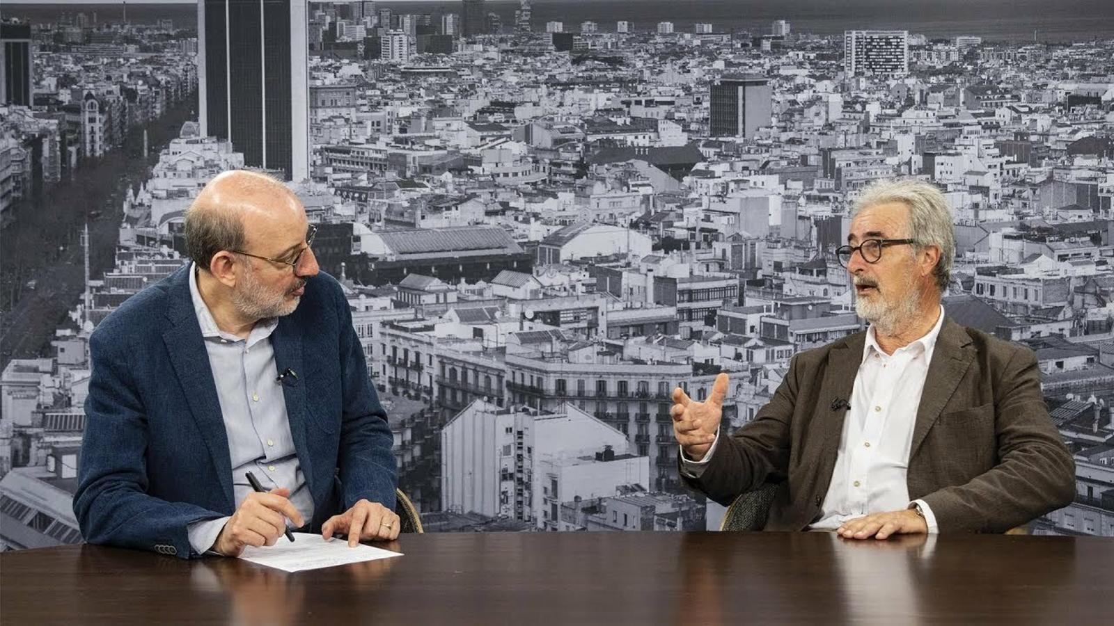 Entrevista d'Antoni Bassas a Toni Lloret