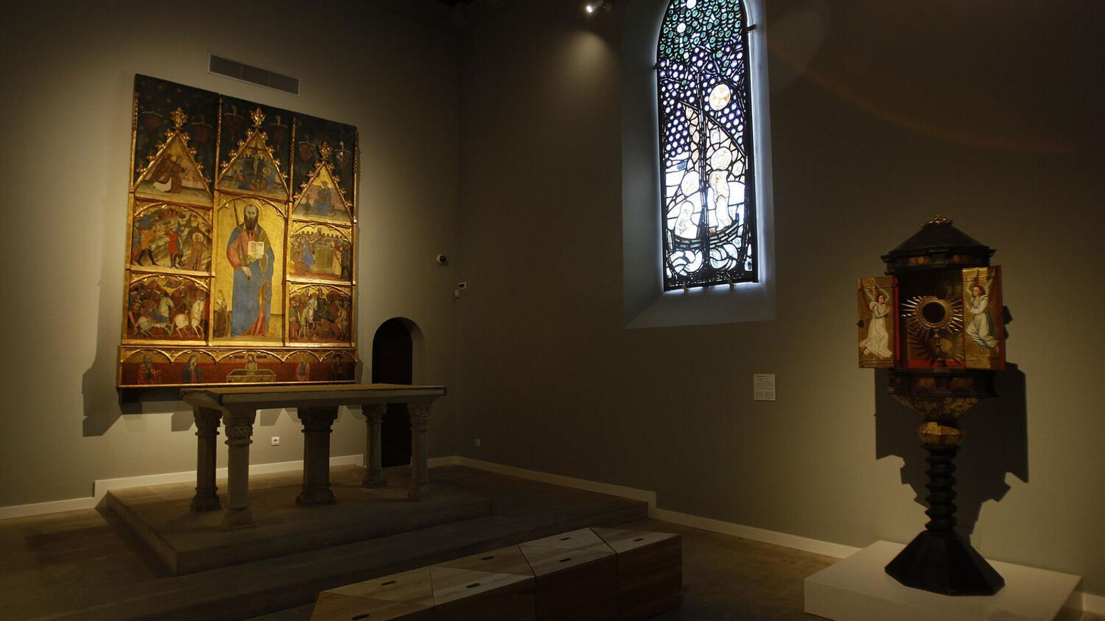 L'Espai oratori del Museu d'Art Sacre