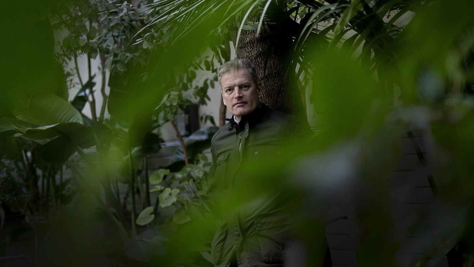 L'escriptor i periodista noruec Lars Mytting, autor d'Els setze arbres del Somme.