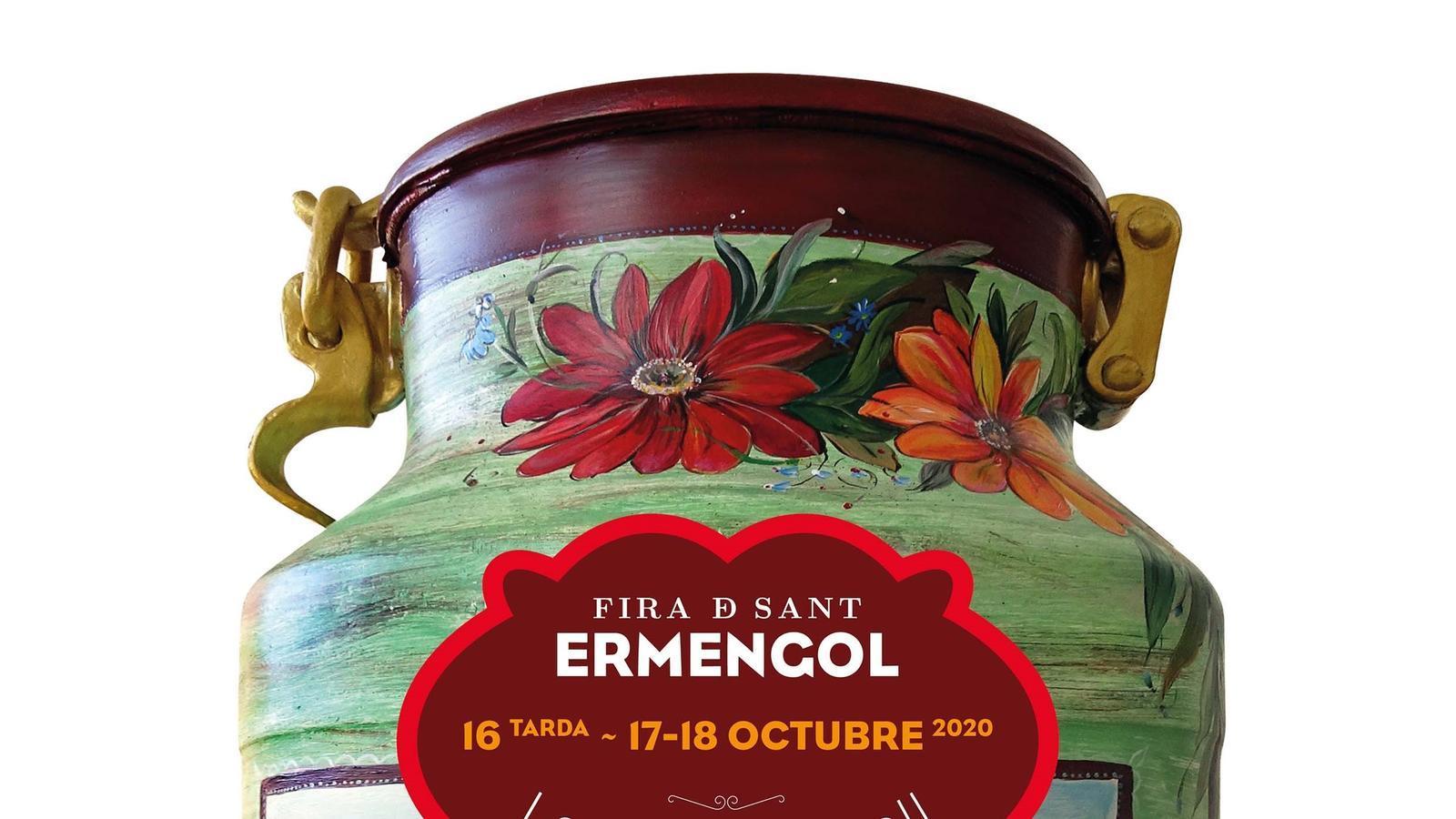 El cartell d'enguany de la Fira de Sant Ermengol. / AJUNTAMENT DE LA SEU D'URGELL