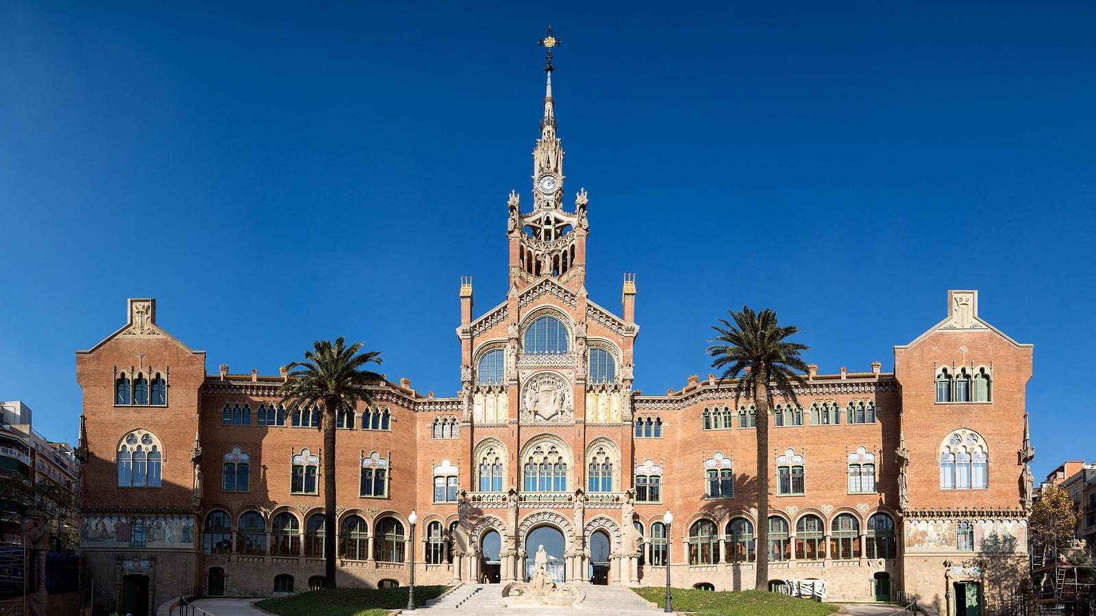 El renovat aspecte de l'Hospital Sant Pau