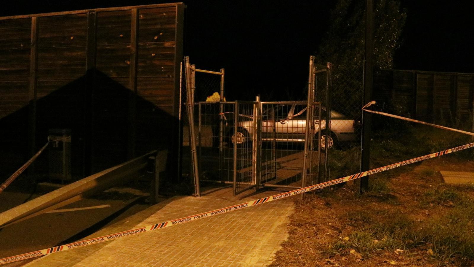 PEl lloc on ha ocorregut el tiroteig a Llinars del Vallès