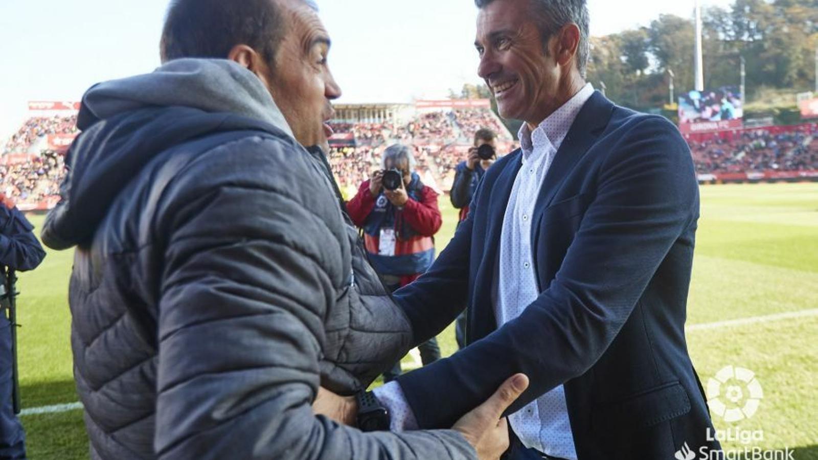 Pep Lluís Martí, entrenador del Girona