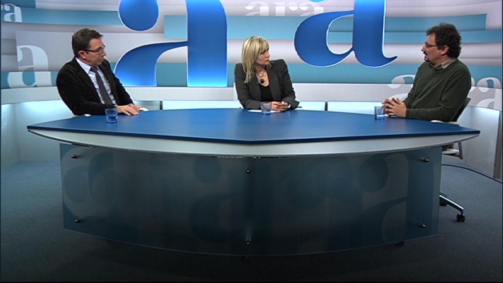 ARA Debat amb Mònica Terribas, Albert Sánchez Piñol i Àlex Susanna, per ARA TV Premium