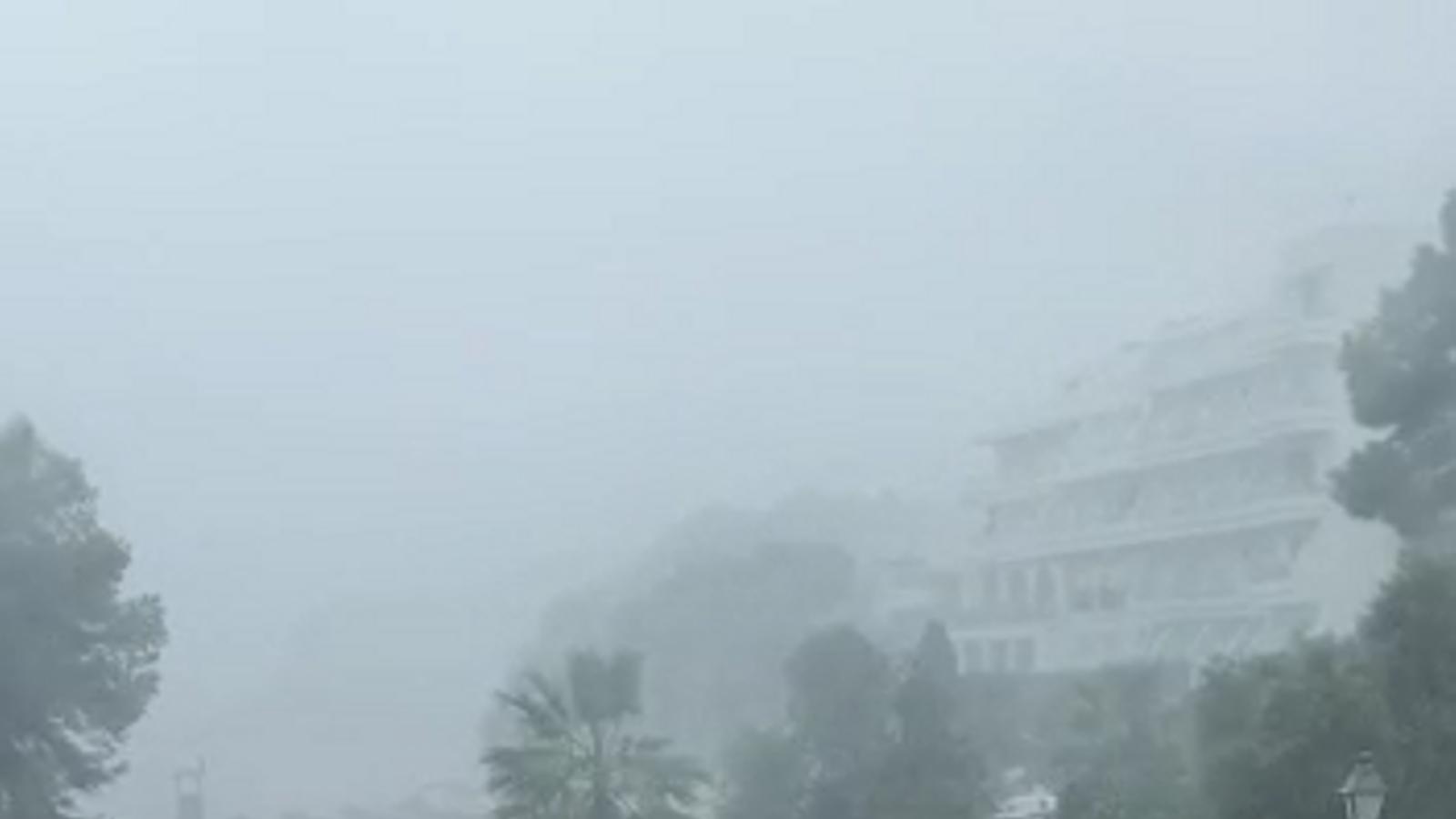 Risc extrem per pluges al Llevant mallorquí, segons l'Aemet