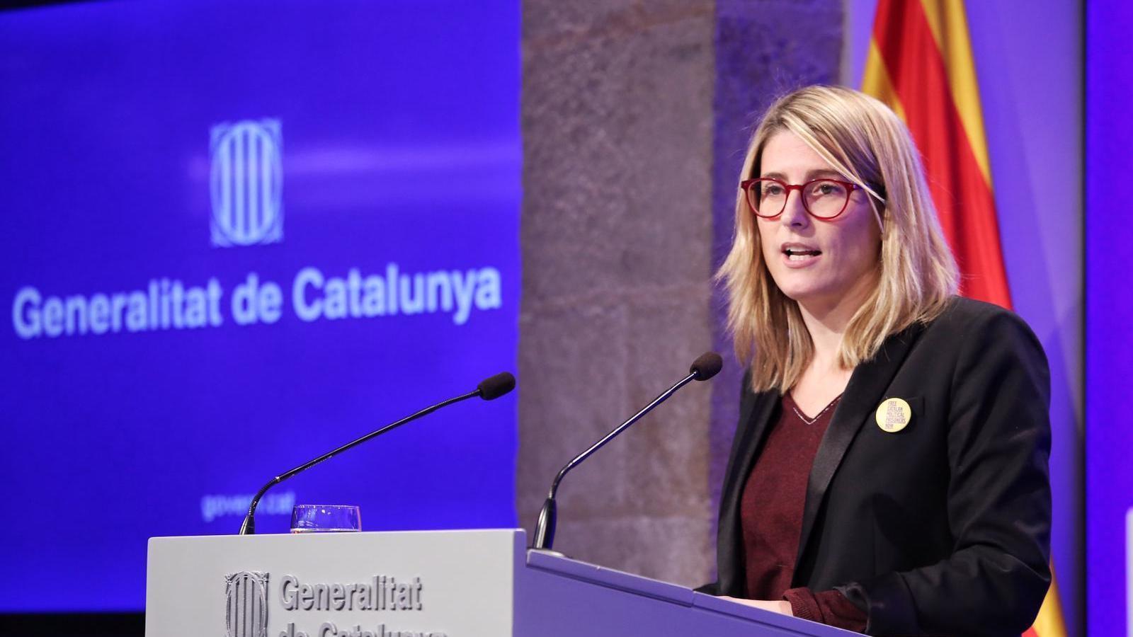 """Artadi afirma que el recurs d'empara al TC de Puigdemont és """"tècnic"""" i no un """"atac al soci de Govern"""""""