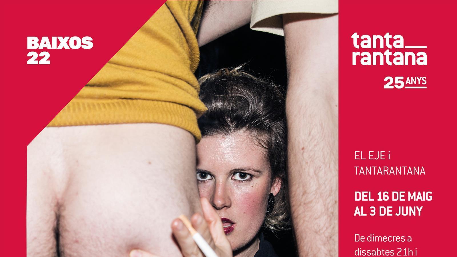 Facebook tanca la pàgina del Tantarantana per ensenyar un cul en un cartell promocional