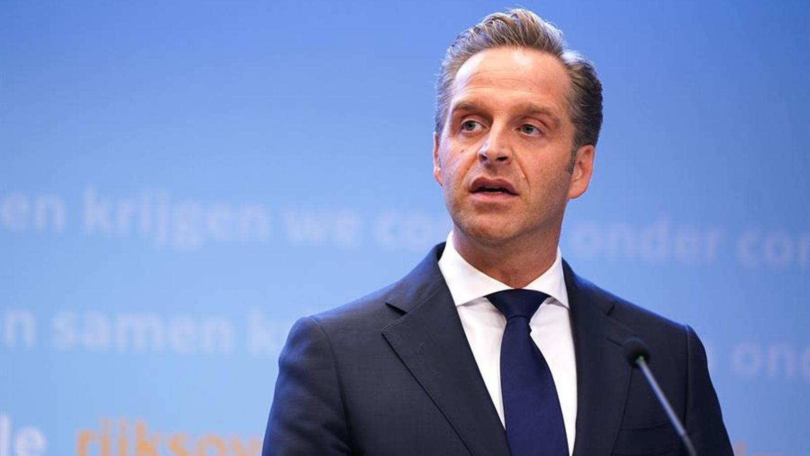 El ministre de Sanitat holandès, Hugo de Jonge