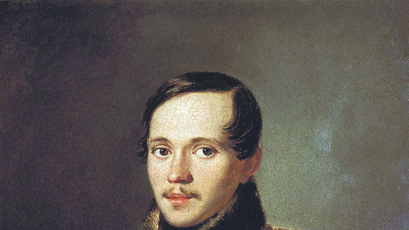 Retrat pictòric de Lérmontov (1814-1841) datat el 1837.