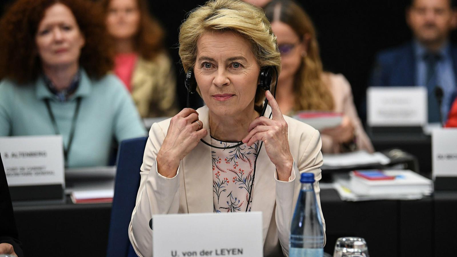Ursula von der Leyen assumirà el càrrec l'1 de novembre.