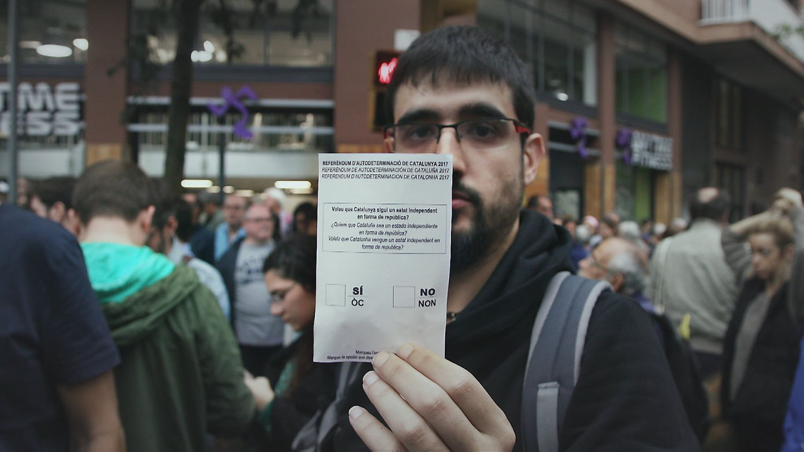 El 'Sense ficció' recorda el paper dels ciutadans en l'1-O