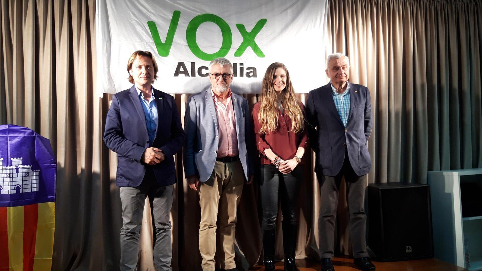 Juan Sedín es presenta com a candidat de VOX a la batlia d'Alcúdia