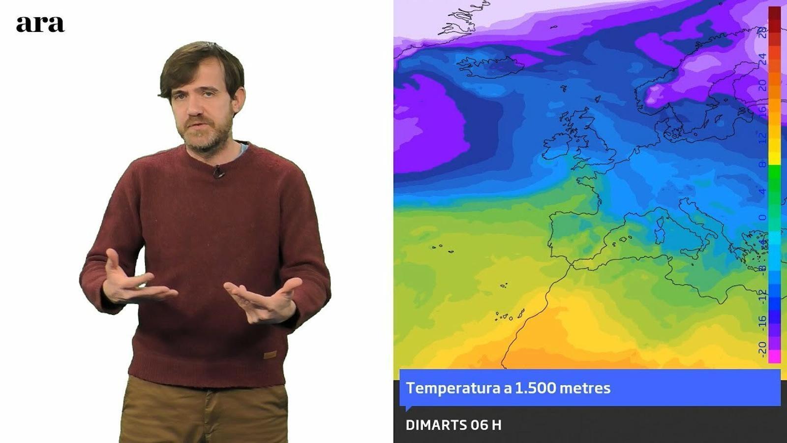 La méteo: entre 3 i 7 graus menys a partir de demà