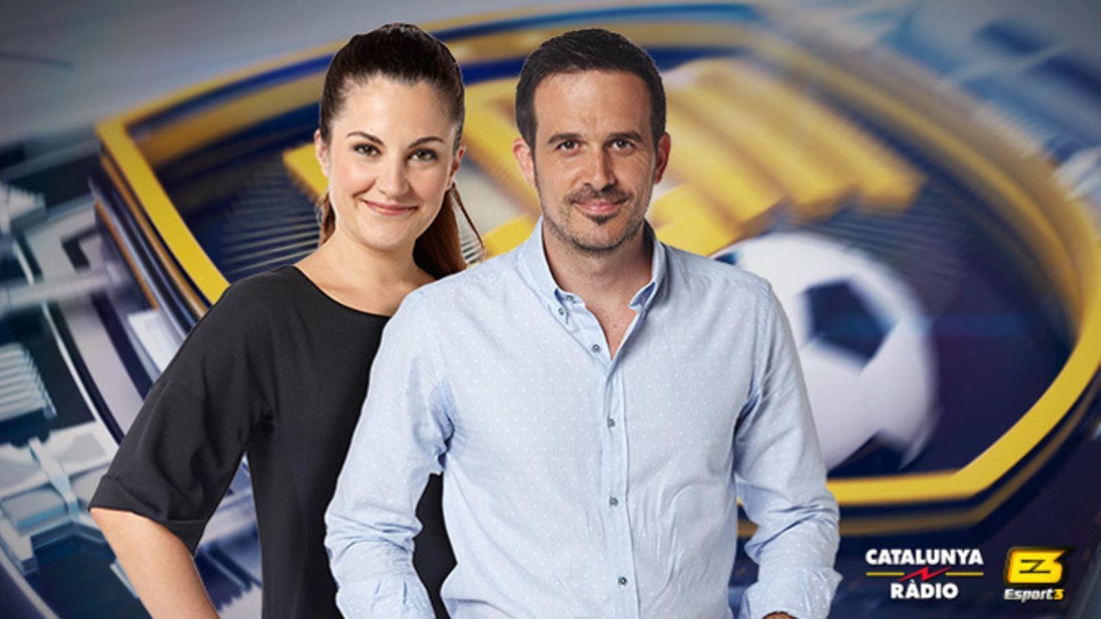 Laia Tudel i Francesc Garriga, d''El club de la mitjanit'