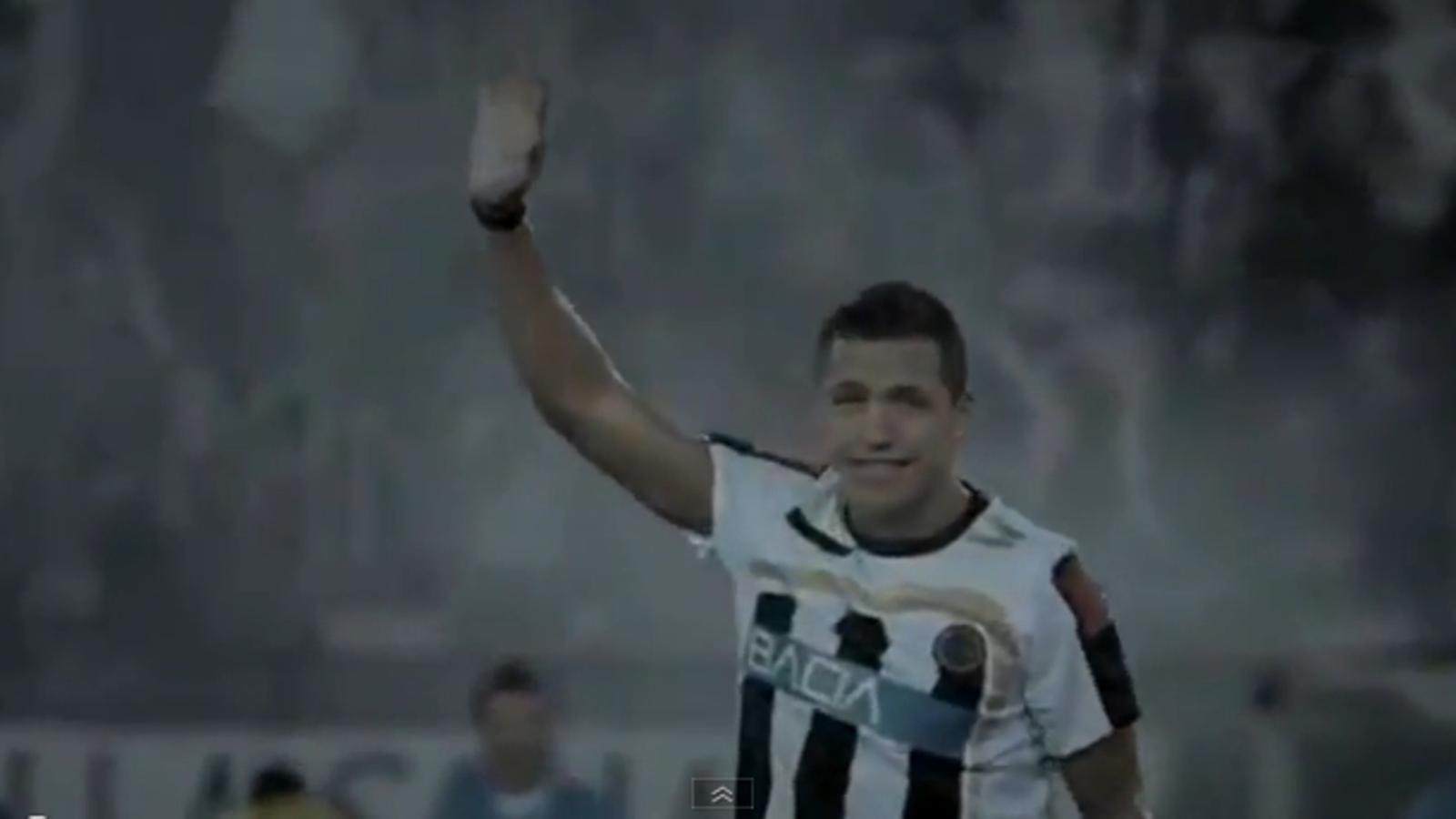 Alexis Sánchez, protagonista d'un anunci de la Copa Amèrica