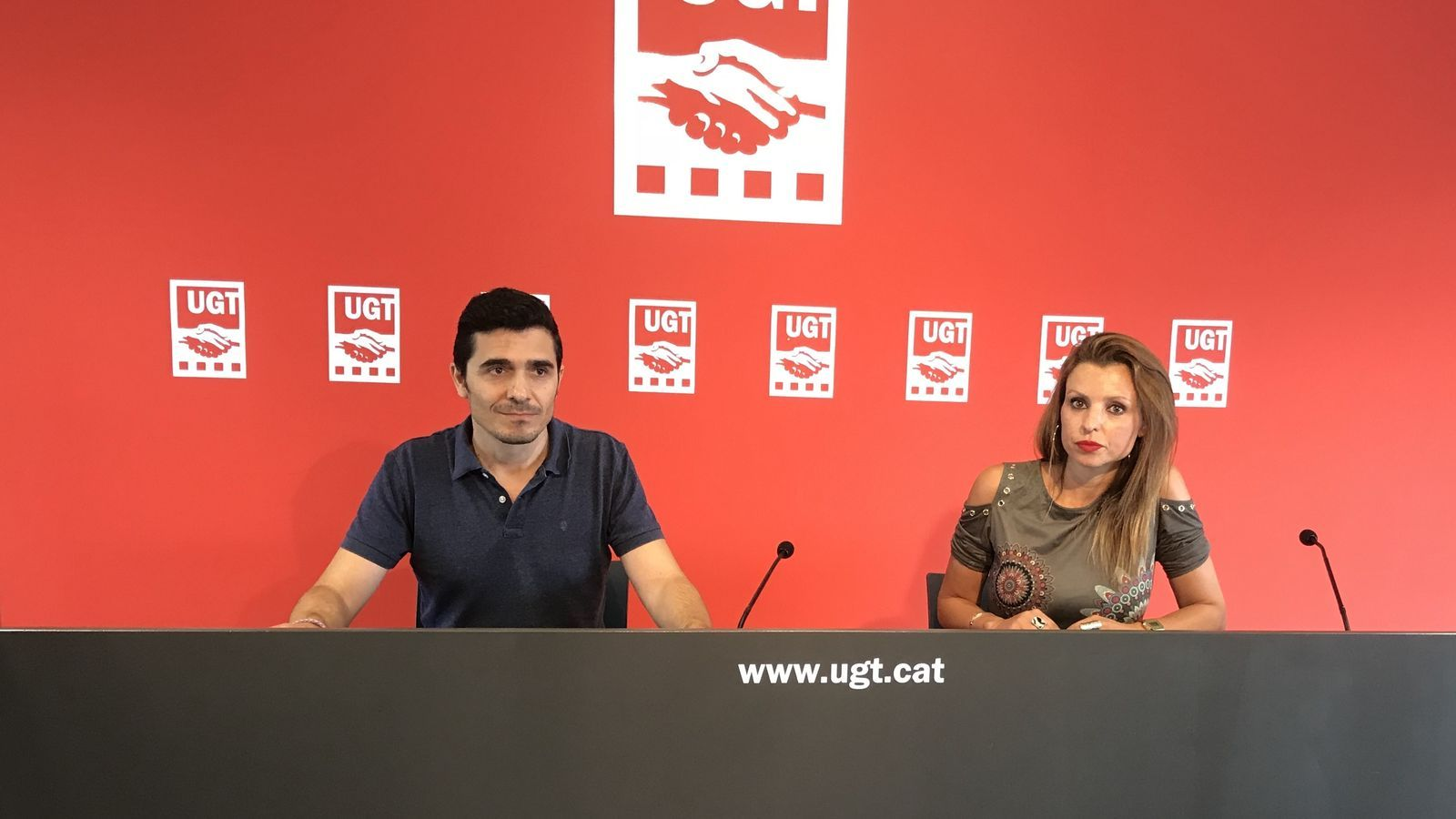 UGT Catalunya presenta l'informe 'Posa't a 1.000 euros: cap conveni per sota'