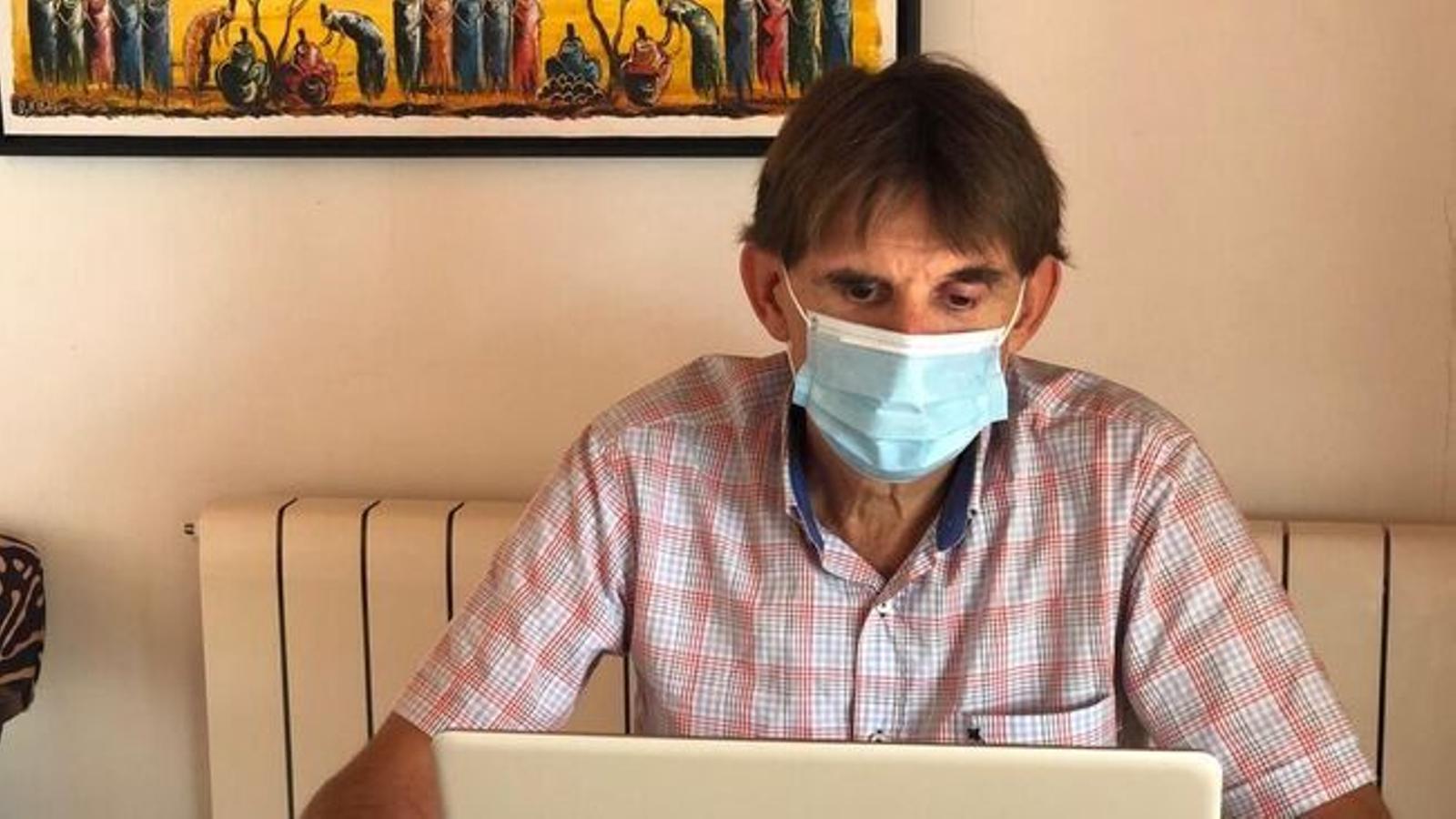 Maties Torrent torna a demanar màxima precaució per evitar propagació del coronavirus.