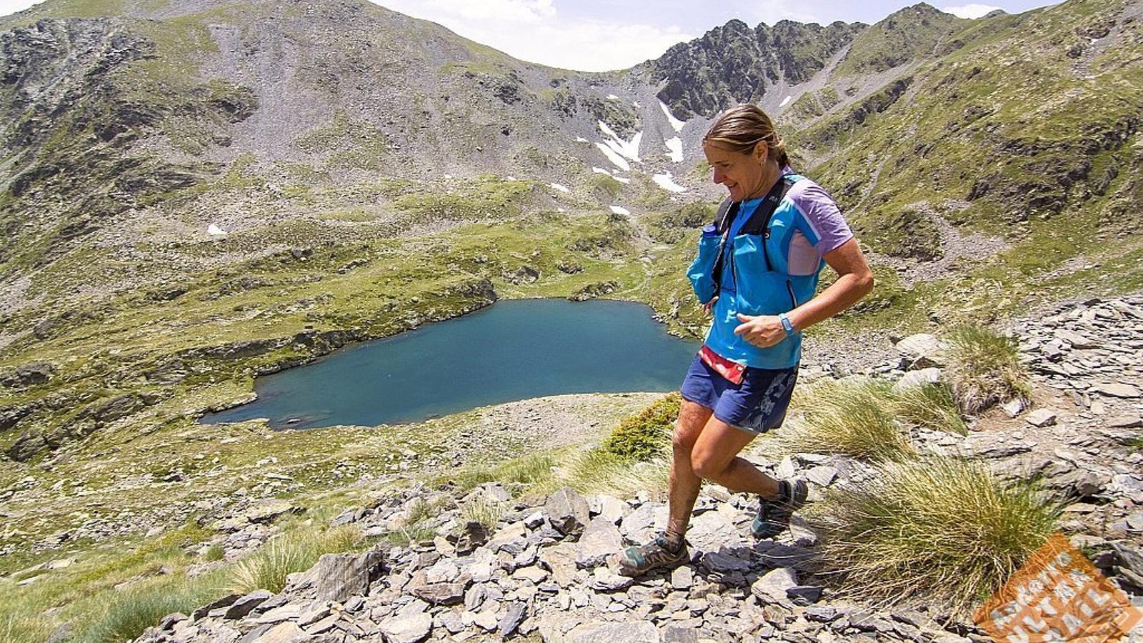 Una participant a l'Andorra Ultra Trail Vallnord de l'any passat. / AUTVN