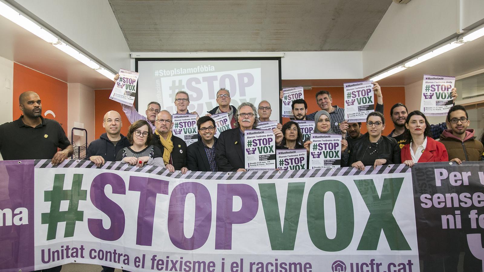Barcelona celebrarà dissabte una manifestació contra el racisme de Vox