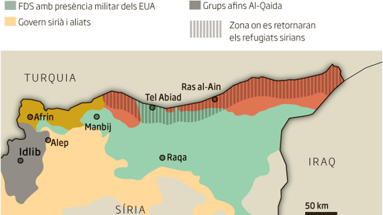 Guia per entendre què implica la retirada dels Estats Units de Síria