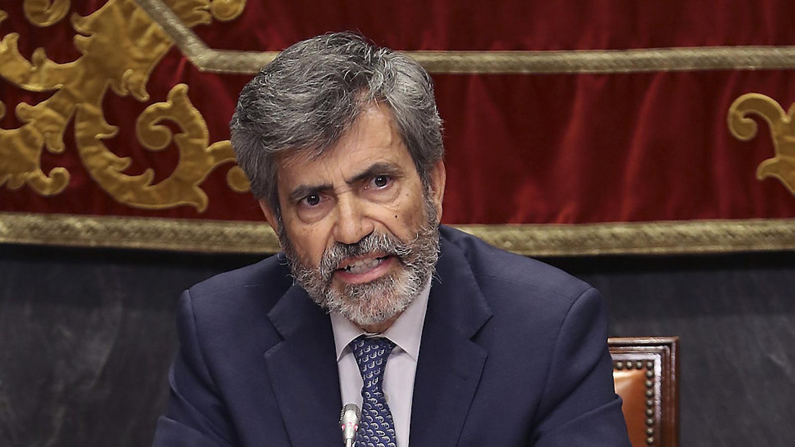"""Lesmes convoca d'urgència la cúpula judicial per """"examinar"""" la reforma exprés del CGPJ"""