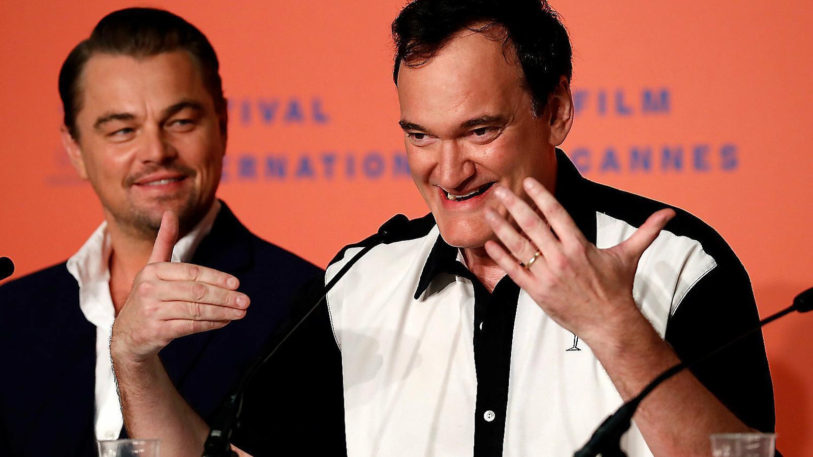"Quentin Tarantino a Canes: ""Rebutjo la teva hipòtesi"""