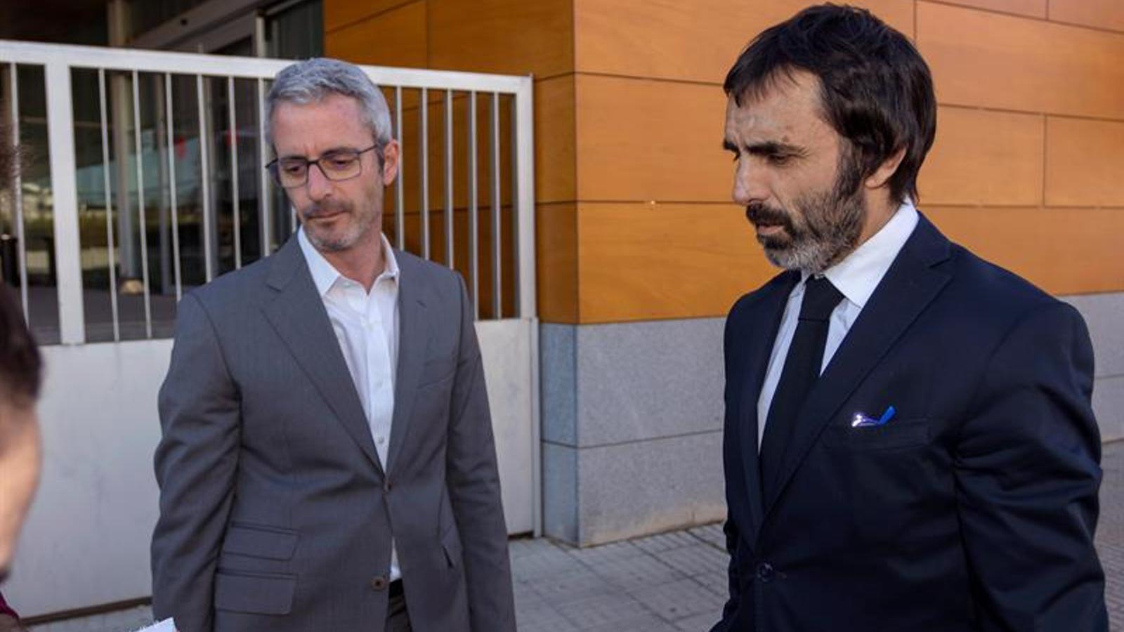 Els advocats dels acusats